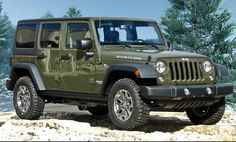 """Jeep Specialist Paul Dworzak takes you on a video tour of the ALL-NEW """"Tank Green"""" 2015 Jeep Wrangler Rubicon 