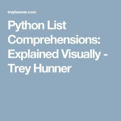 Python List Comprehensions: Explained Visually - Trey Hunner