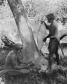 Aboriginal Technology - Canoe Making