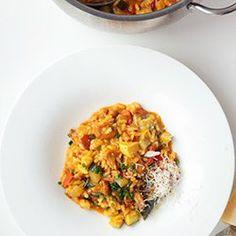 Wiosenne risotto z warzywami