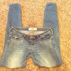 Hollister Jeggings Excellent condition! Hollister Jeans Skinny