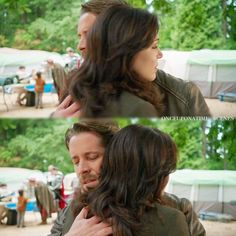 He hugs her like he just wants to shelter her from all the bad things in the world it's beautiful ❤ • {5.02}