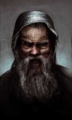 m Wizard Mage portrait ArtStation - Saruman as 'Sharkey', Fabio Leone Dark Fantasy, Fantasy Male, Fantasy Rpg, Medieval Fantasy, Fantasy World, Cthulhu, Fantasy Portraits, Character Portraits, Dnd Characters