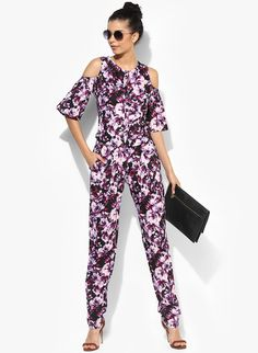 5c6be0b77967 Buy MIAMINX Multicoloured Crepe Printed Jumpsuit online. Printed  JumpsuitWestern WearJumpsuitsStyle ...