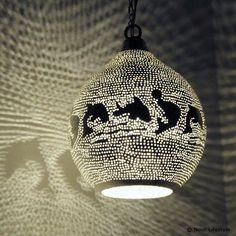 Kinderlamp Fatoeta dolfijnen - Nour Lifestyle