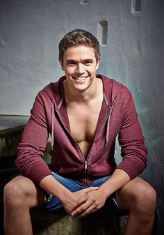 Nic Westaway Home And Away Actors, Home And Away Cast, What I Wore, Pretty People, Hot Guys, Eye Candy, Mens Fashion, Stylish, Cute
