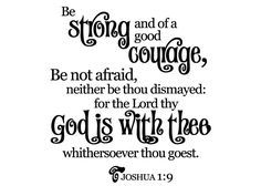 Be Strong Not Afraid Wall Lettering Decal Sticker Words Christian Wall Decals, Joshua 1 9, Card Sayings, Letter Wall, Wall Quotes, Bible Scriptures, Vinyl Wall Decals, Word Art, Woman Quotes