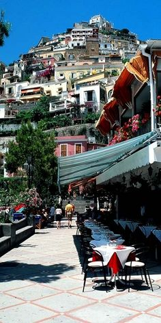 Positano, Italy. Is wear this is one of my favorite places on earth. Missing the citronella