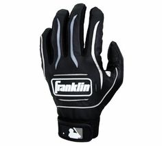Franklin Sports MLB Player Classic Series Batting Glove (Black/Gray, X-Large) by Franklin. $13.09. The Player Classic Series represents a traditional, competitively priced batting glove with all the features of a high-end glove. Each glove uses a full genuine palm and is designed to the Franklin standard of fit, feel and performance.