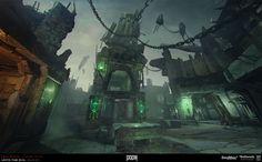 ArtStation - Concept art for Doom 4., Katya Gudkina