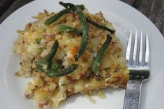 Potato and Sauerkraut Hotdish