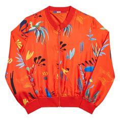 Tangerine Red - Spring Summer  2017 Woman, Silk Jackets - G.KERO