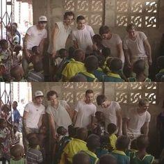 The boys in Ghana