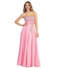 Strapless Sweetheart Gown Rhinestones Elegant Floor Length Long Plus Sizes Gown | eBay