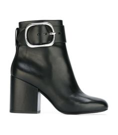 Alexander Wang Kenze Ankle Boots - Side Buckle Fastening Boots