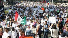 Radio La Nueva República » Sin miedo ni saqueos miles salen a marchar pacíficamente en varias entidades contra #Gasolinazo
