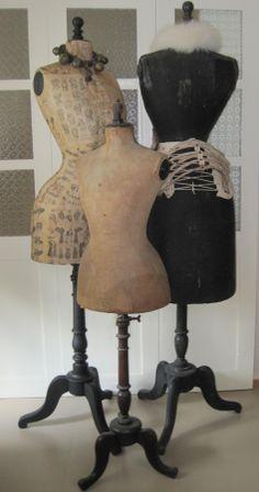Antieke paspoppen