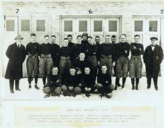 Packers history. The first team from 1919