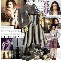 """Fashion rebel Helena Bonham Carter"" by ajkc ❤ liked on Polyvore"