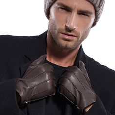 MATSU Men Winter Warm Deerskin Leather 100% Cashmere Lined Gloves M1066 (L, Brown-100% Cashmere) Matsu Gloves http://www.amazon.com/dp/B013HTKTME/ref=cm_sw_r_pi_dp_owJ-vb06KR775