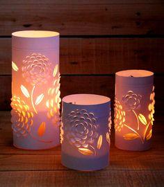 Beautiful 3D Paper Lanterns   AllFreePaperCrafts.com