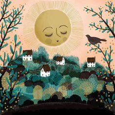 jane newland (@janenewland) | Twitter inspiration piece for embroidered sunshine piece