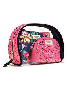 a9995e740c Beauty Bag Trio Travel Cosmetic Bags