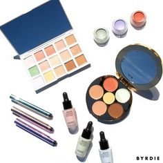 This was perhaps our prettiest Byrdie product testing session. Picture four editors huddled around an assortment of pastel-hued creams, liquids, and powders. Oohs and ahhs ensued. From palettes to...