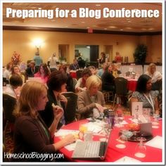 Preparing for a Blog Conference