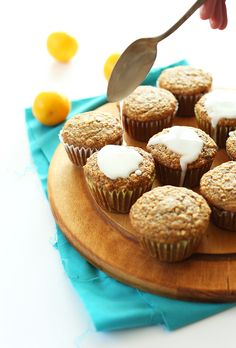 Vegan Lemon Poppy Seed Muffins | Minimalist Baker Recipes