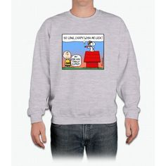 Flying Ace's Farewell Charlie Brown Crewneck Sweatshirt