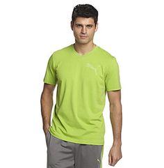 PUMA® Men's Greenery V-neck Graphic Tee