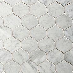 Walker Zanger, Jet Set collection, Rendezvous - Carrara White, 3 1/4'' x 3'' Honed
