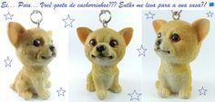Chaveiro resina cachorrinho vendido em http://www.euna25demarco.com.br/chaveiros/chaveiro-resina-cachorrinho.html