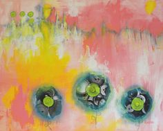 Winter Passes - Flowers For Johnny, Becky Roesler #abstract #abstractart #abstractpainting