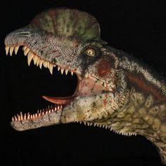 Dilophosaurus by Andrea Leanza