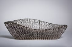 The sofa was created in a single print on a ProX 950, one of the largest format 3D printers by 3D Systems.
