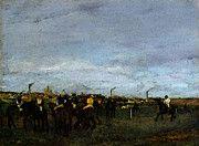 """New artwork for sale! - """" Degas Edgar Before The Race by Edgar Degas """" - http://ift.tt/2pduPXd"""