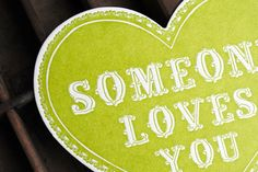 someone loves you cleanwash letterpress
