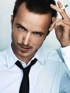 Aaron paul. This guy is so sexy sometimes its stupid. Like in this picture...