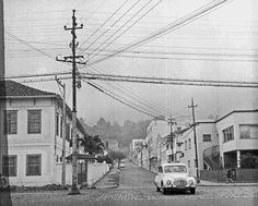 Av. Rio Branco esquina com a Rua Oscar Vidal, em outubro de 1969 (foto autoria de Roberto Dornellas).