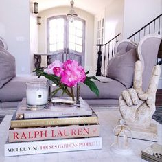 Bungalow Blue Interiors - Home - instagram inspiration: rachel parcell of pink peonies