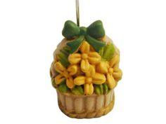 Carinissimo segnaposto a forma di vasetto con fiori.. veramente molto bellino!!!