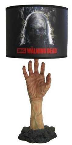 High Quality The Walking Dead Zombie Table Lamp