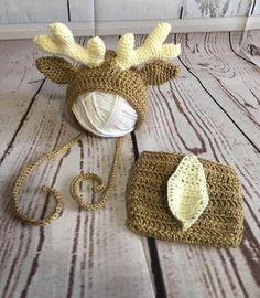 Newborn Deer Outfit - Newborn Deer Costume - Baby Deer Costume - Newborn Photo Prop - Newborn Photo Outfit - Baby Photo Prop - Baby Shower by StephsFamilyStitches on Etsy https://www.etsy.com/ca/listing/537590014/newborn-deer-outfit-newborn-deer-costume