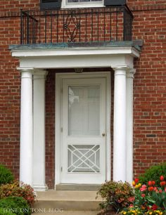 Tone on Tone: Storm Doors - Ideas and Inspirations