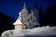 Gargellen, Austria in winter