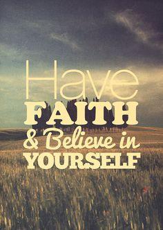 positive thinking is key =)