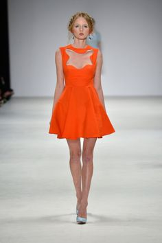 See the Best Looks From Australian Fashion Week So Far — Zimmermann, Alice McCall, and More! 2020 Fashion Trends, Fashion Models, Sydney Fashion Week, Alice Mccall, Australian Fashion, Orange Dress, Spring Summer Fashion, Summer Wear, Dress Up