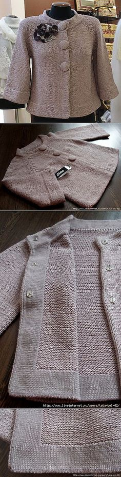 27 ideas crochet cardigan sweater pattern inspiration for 2019 Crochet Jacket, Crochet Cardigan Pattern, Knit Crochet, Knitting Designs, Knitting Patterns Free, Knit Patterns, Jacket Pattern, Knit Fashion, Fashion Outfits